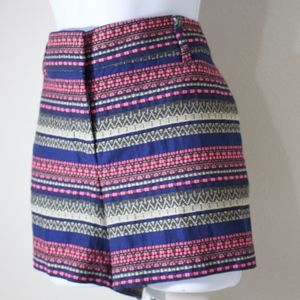 Loft shorts Tribal jacquard riviera, pink/blue/tan